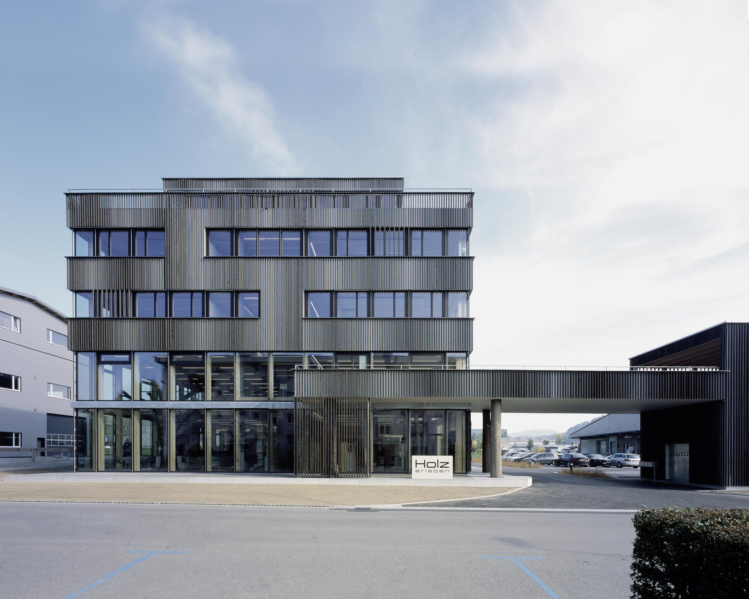 Neubau Büro- und Ausstellungsgebäude BRAUN AG, Gossau
