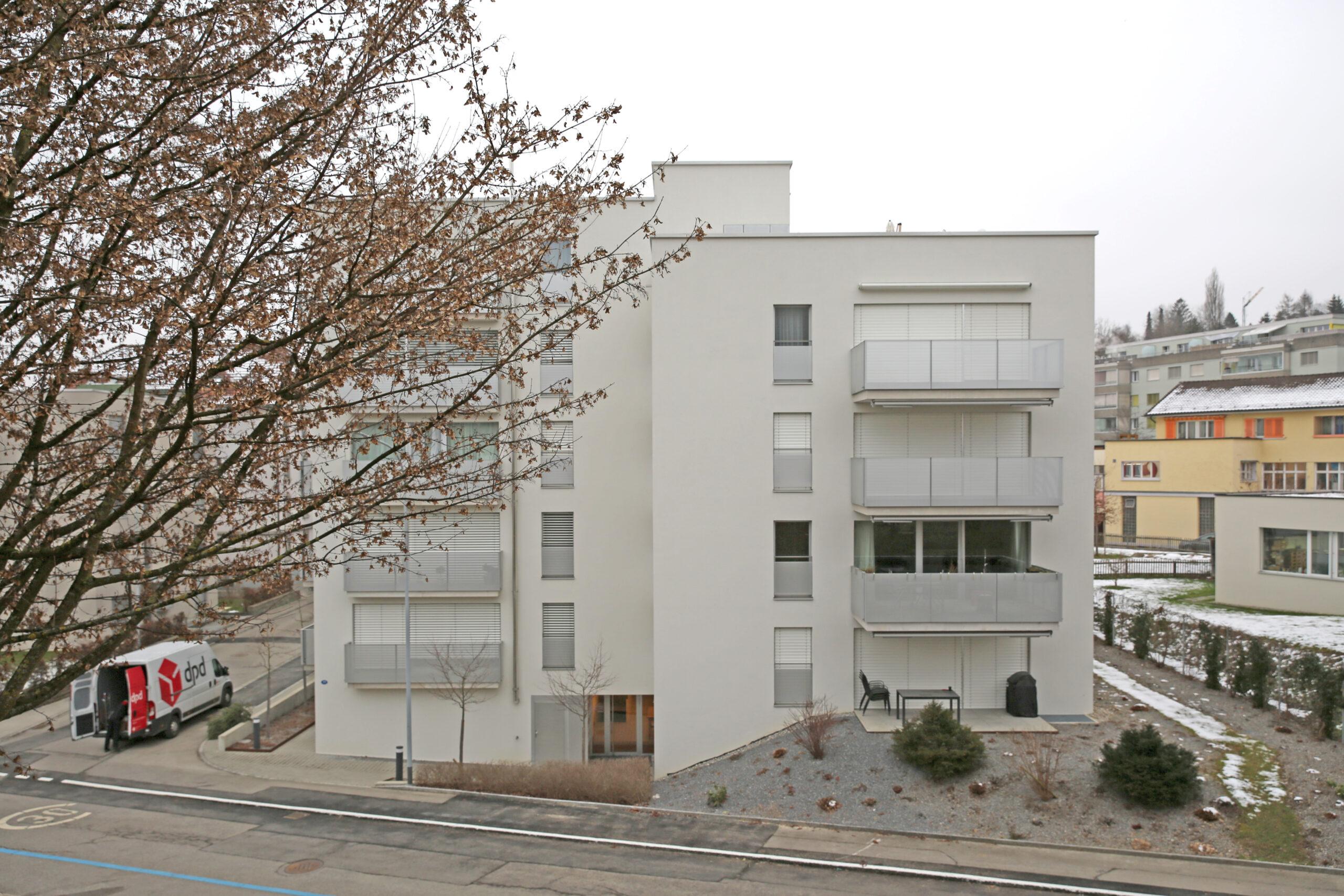 Neubau Mehrfamilienhaus Lettenstrasse, St.Gallen