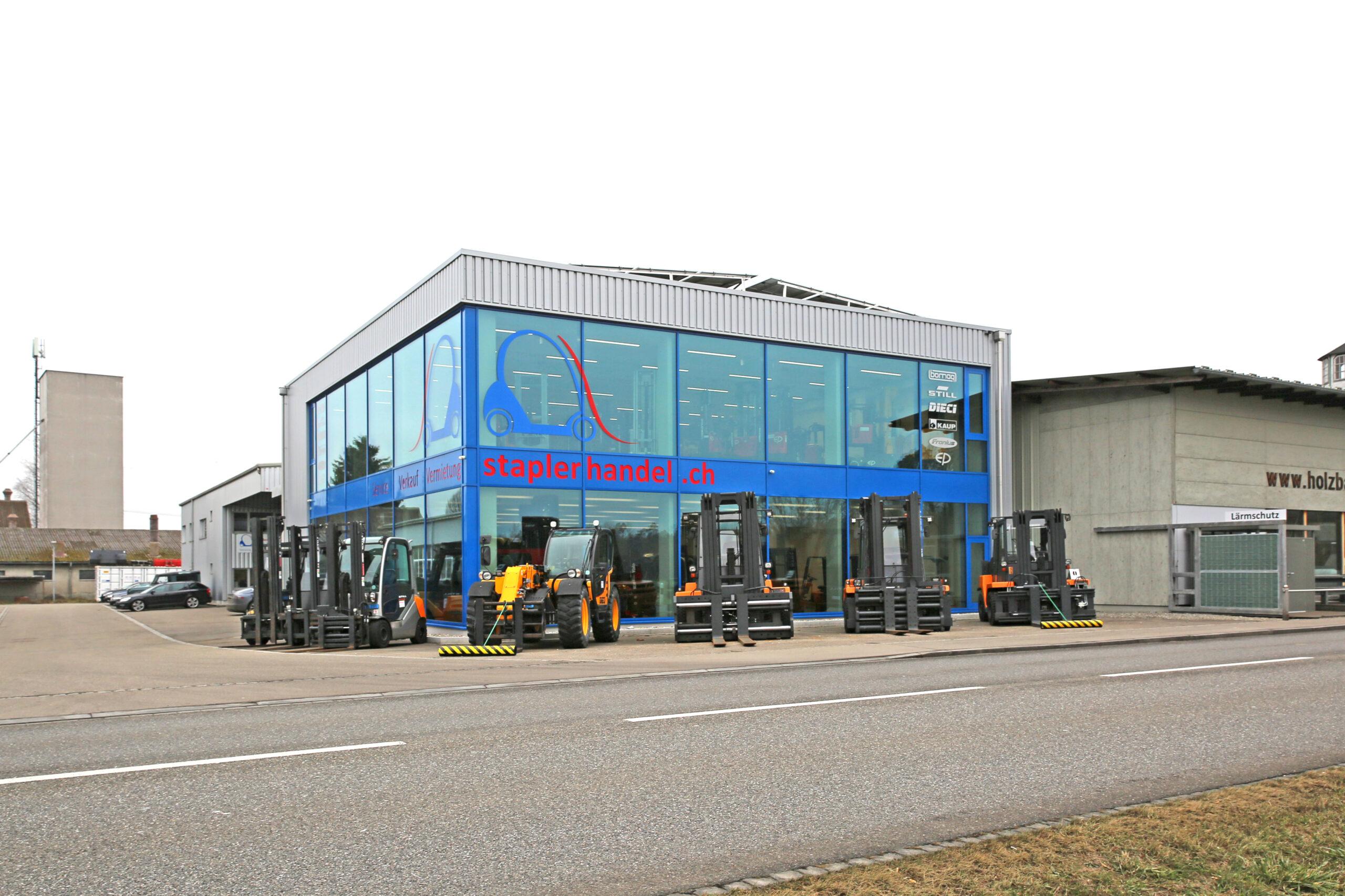 Erweiterung staplerhandel.ch AG Bonau