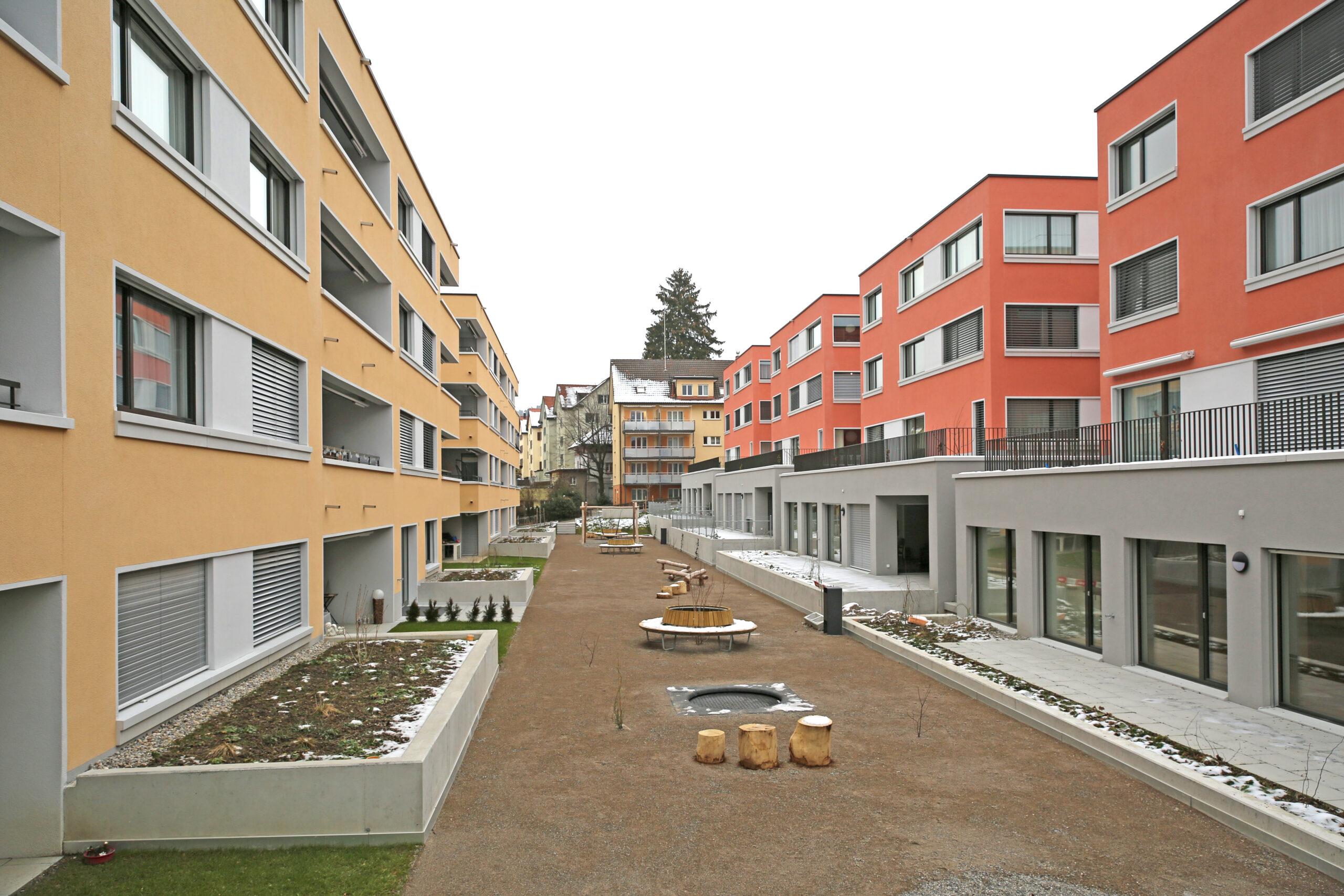Wohnüberbauung Steingrüebli St. Gallen