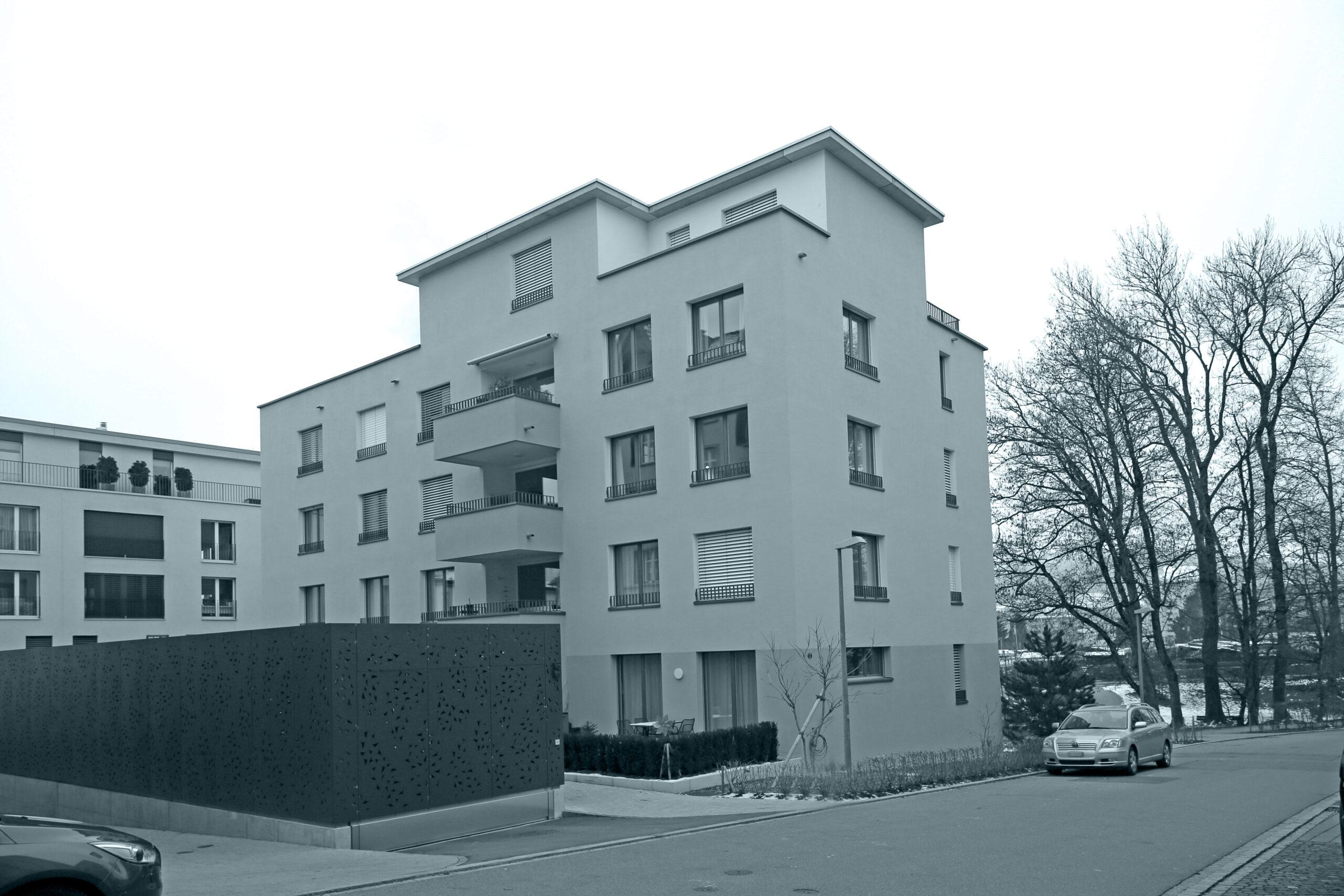 Neubau Mehrfamilienhaus Föhrenstrasse, St.Gallen